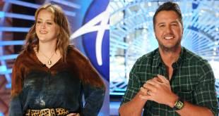 Hannah Everhart, Luke Bryan; Photos Courtesy of ABC