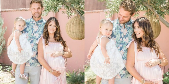 Brett Young, Taylor Mills Young & Presley Elizabeth Young; Photos by Gabrielle Nelson, Courtesy of Instagram