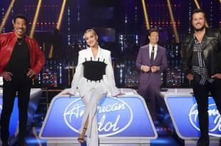 Lionel Richie, Katy Perry, Ryan Seacrest & Luke Bryan; ABC/Eric McCandless