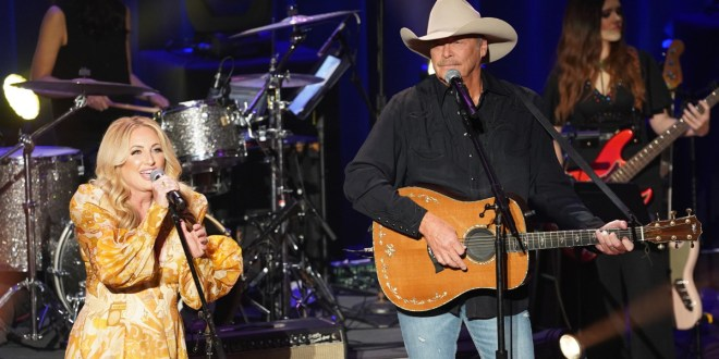 Lee Ann Womack & Alan Jackson; Photo by Erika Goldring/Getty Images for ACM