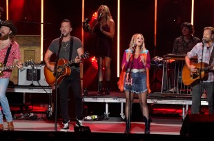 Brothers Osborne, Dierks Bentley & Miranda Lambert; Photo Courtesy of ABC/CMA Summer Jam