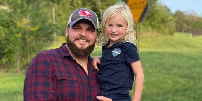 Jake Hoot & Daughter Macy; Photo Courtesy of Instagram