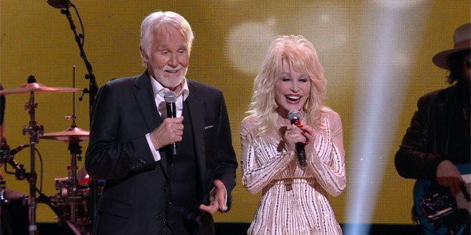 Kenny Rogers and Dolly Parton; Photo Courtesy of CBS