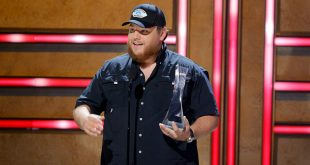 Luke Combs; Photo by Jason Kempin/Getty Images for CMT/Viacom
