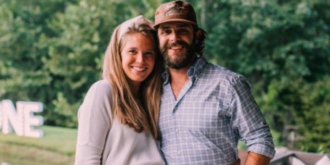 Thomas Rhett & Lauren Akins; Photo Courtesy Of Instagram