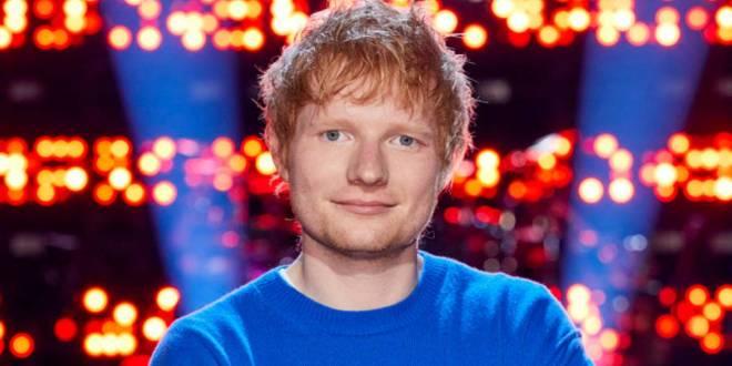Ed Sheeran; Photo Courtesy of The Voice/NBC