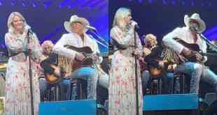 Alan Jackson & Daughter Ali Singing Together; Photos Courtesy Of YouTube