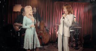 Dolly Parton and Reba McEntire; Photo Courtesy Facebook