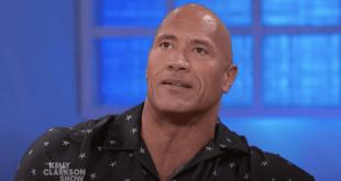 Dwayne 'The Rock' Johnson; Photo Courtesy of NBC/The Kelly Clarkson Show