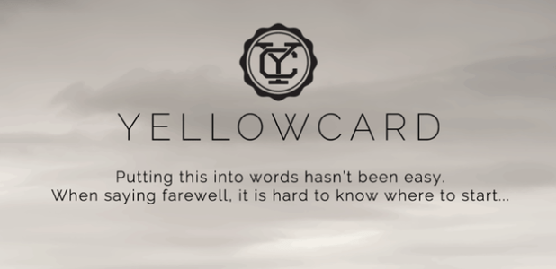Yellowcard Announce Last Album And Final World Tour Release New
