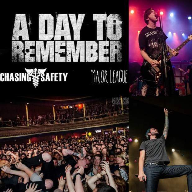 A Day To Remember, Chasing Safety, & Major League put on an amazing show in Philadelphia!