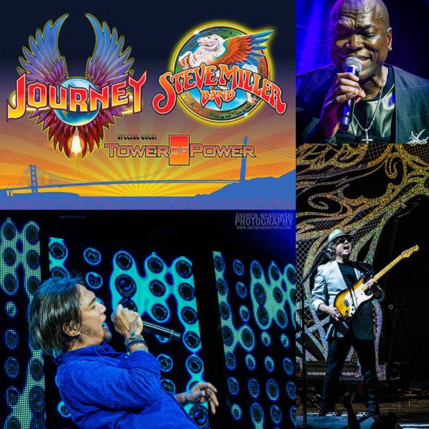 DONT STOP BELIEVING Journey & The Steve Miller Band put on a breathtaking performance!