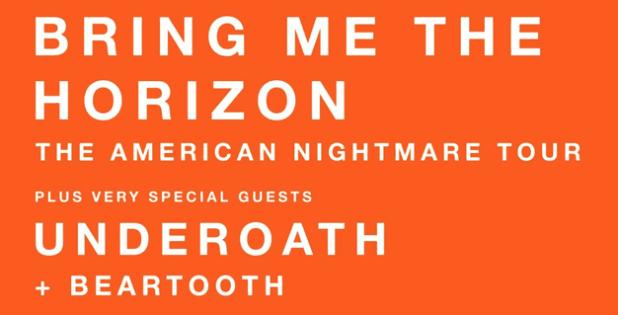 Bring Me The Horizon Nightmare Tour