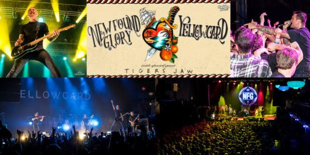 New Found Glory / Yellowcard Tour 2015