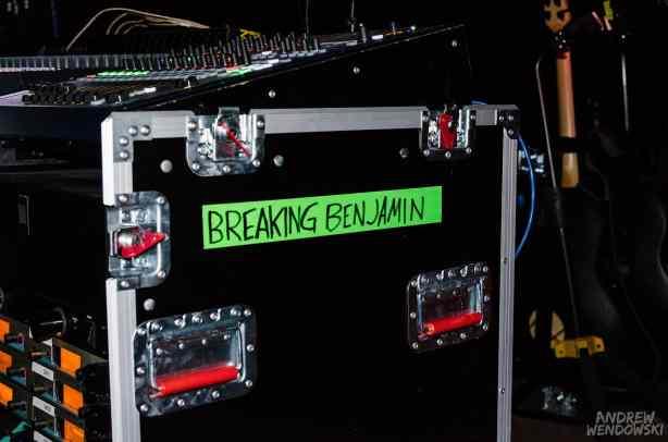Breaking Benjamin (Photo By: Andrew Wendowski)