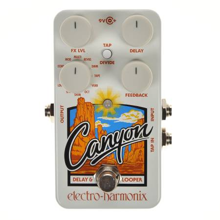 Electro-Harmonix Canyon Delay/Looper Pedal, Mint