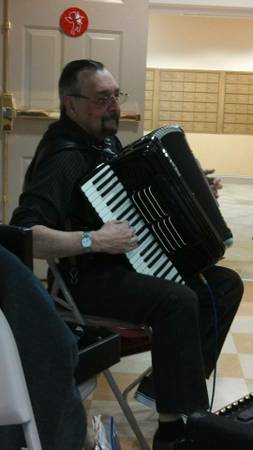 Accordion Player Professional