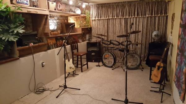 *Band Rehearsal Space Available*