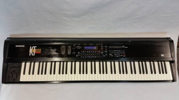 Ensoniq KT-88 64 Voice Weighted Action Synthesizer Midi Keyboard