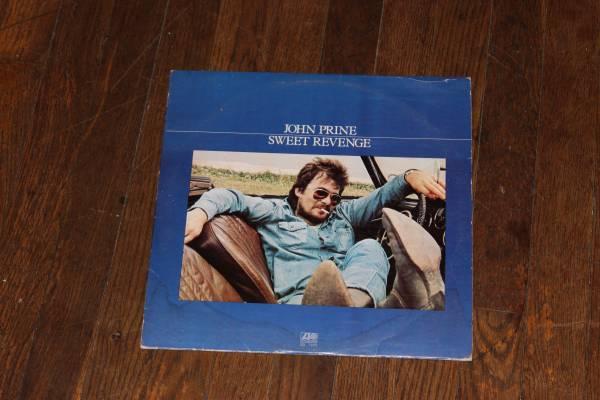 John Prine - Sweet Revenge LP Vinyl 1973
