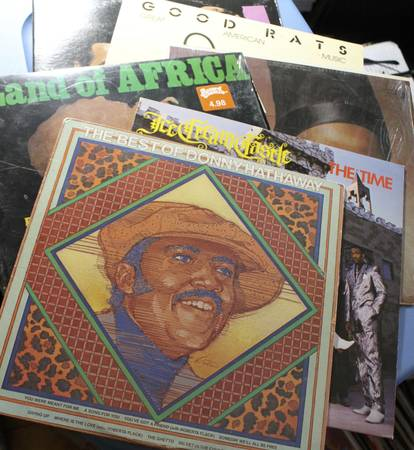 Vinyl LPs – Box of 70 or so