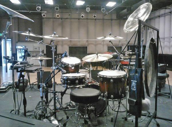 Ddrum DOMINION MAPLE drum set DW Z Custom Zildjian GLITTERY!!