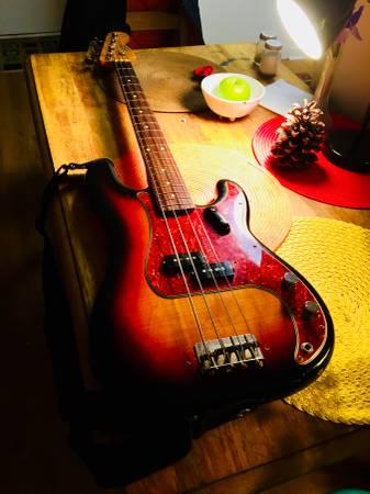 Singing Bass Player