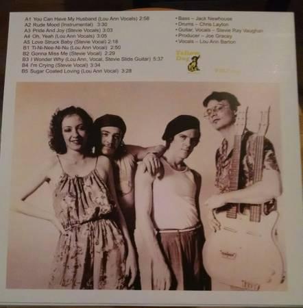 STEVIE RAY VAUGHAN Nashville 1979 Lost Studio Album White Vinyl LP NEW