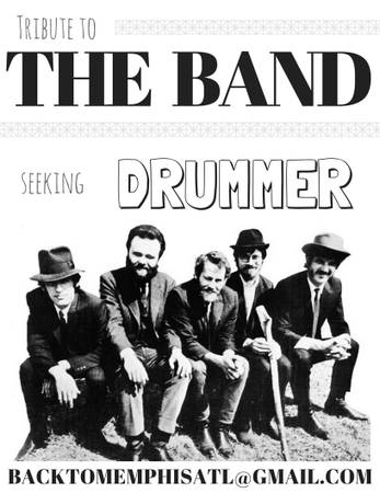 Tribute to THE BAND looking for drummer
