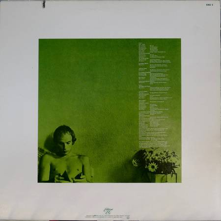 BRIAN ENO – Another Green World IMPORT Lp Album
