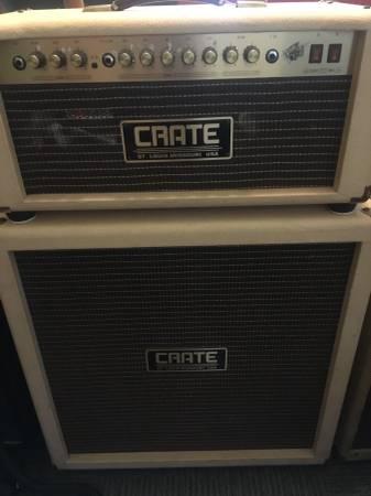 Crate Vintage Club 50 half stack