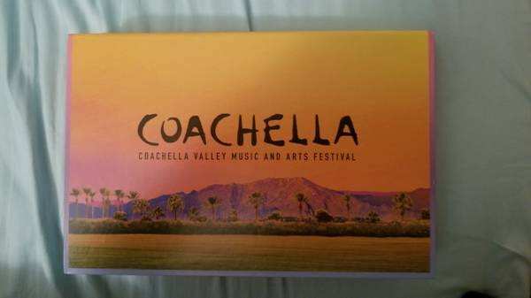 Two (2) Coachella Weekend Two Tickets (2) for Sale