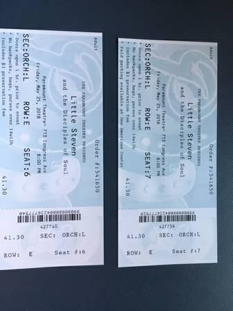 Little Steven and Disciples of Soul Concert Tickets