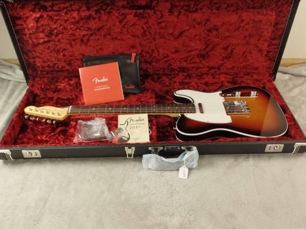 2018 Fender American Original '60s Telecaster Sunburst