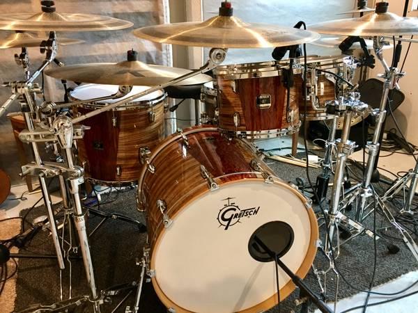 Gretsch Renown exotic drum kit