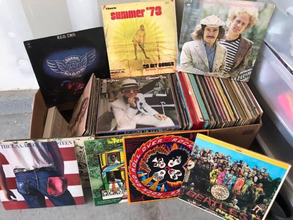 —Vinyl Records—-