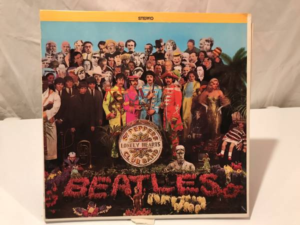 Sgt Pepper's 1967 USA Vinyl Album
