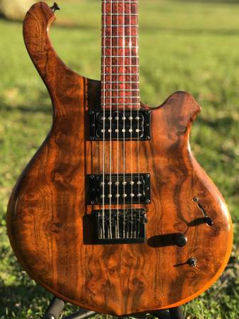 Dell'Isola Island series custom 6 string guitar for trade