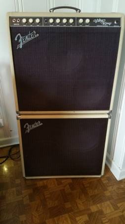 FENDER VIBRO KING AMP W/ EXTENSION CAB
