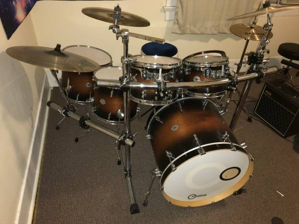 Pacific Drums Platinum Series Maple Shell Pack (Excellent Condition)