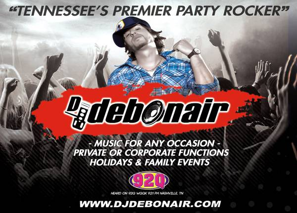 i106.7 DJ/Video-DJ 4Hire (references incl: KeithUrban & StevieWonder)