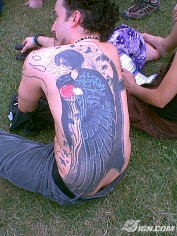 Lollapalooza 2005: Best Tattoos and Hair Picture