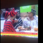 #BBNaija 2019: Moment Venita captured hiding food in her breasts (See Video)