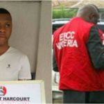 Just in: Popular yahoo boy Wealth Wilson in Port Harcourt arrested by EFCC (See Photo)