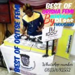 MIXTAPE: DJ One Thousand – Best Of Oritse Femi Mixtape 08137692552 (Hot Mix)