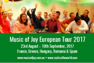 Music of Joy European Tour 2017