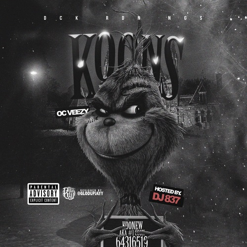 oc veezy sends shots with koons music on the dot