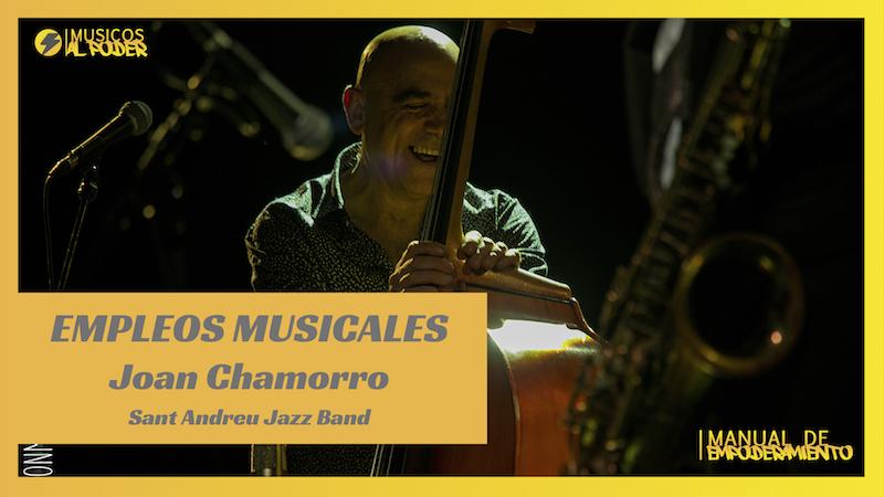 Metodología y filosofía de Joan Chamorro (Sant Andreu Jazz Band)