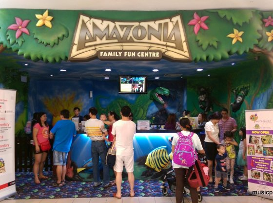 Entrance of Amazonia Fun Singapore