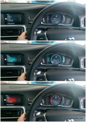 Volvo S60 T5 display themes